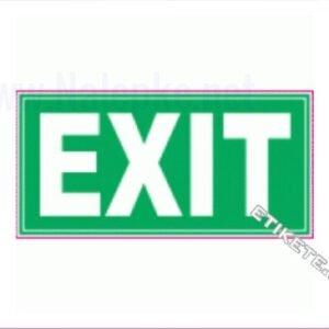 Evakuacijske poti in stopnišča Exit