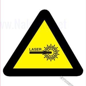 Opozorilni znaki Laser