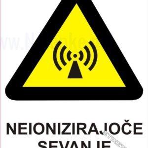Opozorilni znaki Neionizirajoče sevanje 1