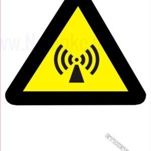 Opozorilni znaki Neionizirajoče sevanje