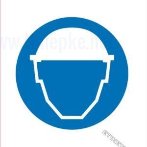 Opozorilni znaki obveze Obvezna uporaba čelade