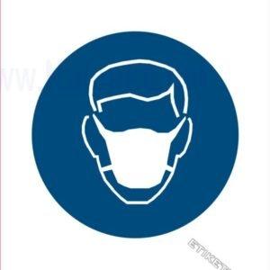 Opozorilni znaki obveze Obvezna uporaba zaščitne maske