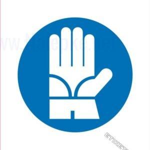 Opozorilni znaki obveze Obvezna uporaba zaščitnih rokavic