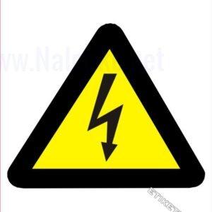 Opozorilni znaki Pozor! Elektrika