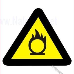 Opozorilni znaki Pozor! Oksidant