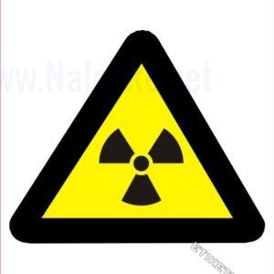 Opozorilni znaki Pozor! Radioaktivna snov