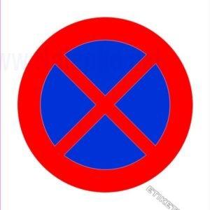 Znaki prepovedi Prepovedano parkiranje in ustavljanje