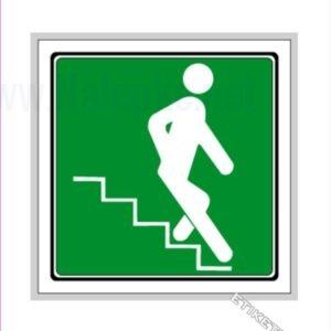 Evakuacijske poti in stopnišča Stopnišče navzdol