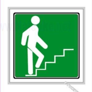 Evakuacijske poti in stopnišča Stopnišče navzgor