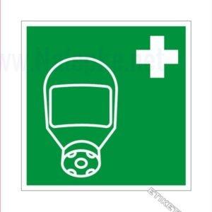 Evakuacijske poti in stopnišča Zaščtna maska