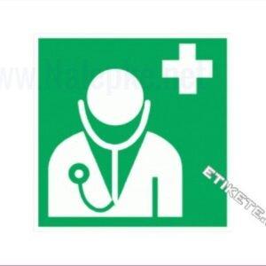 Evakuacijske poti in stopnišča Zdravnik