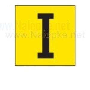 Mešano nalepka I, 16 x 16 mm, pola: 14 nalepk