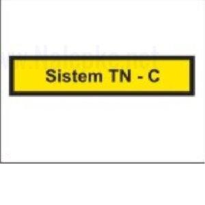 Mešano Nalepka Sistem TN C, dimenzija: 71x16mm, pola: 10 kos