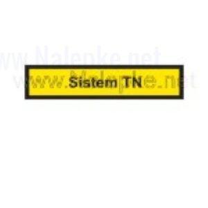 Mešano Nalepka Sistem TN, dimenzija: 71x16mm, pola: 10 kos