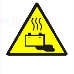 Opozorilni znaki POZOR! PRISOTNI SO AKUMULATORSKI PLINI IN ELEKTRIČNA NAPETOST 2