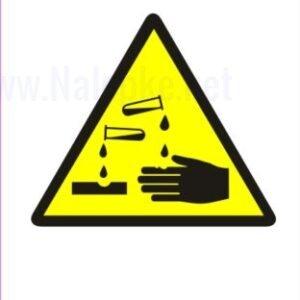 Opozorilni znaki Pozor nevarna snov 2