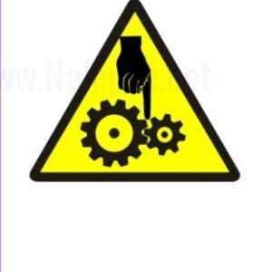 Opozorilni znaki Nevarnost stiska rok 2