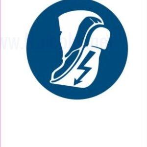 Opozorilni znaki obveze Obevzna uporabe prevodne obutve