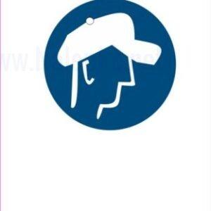 Opozorilni znaki obveze Obevzna uporaba zaščitne kape