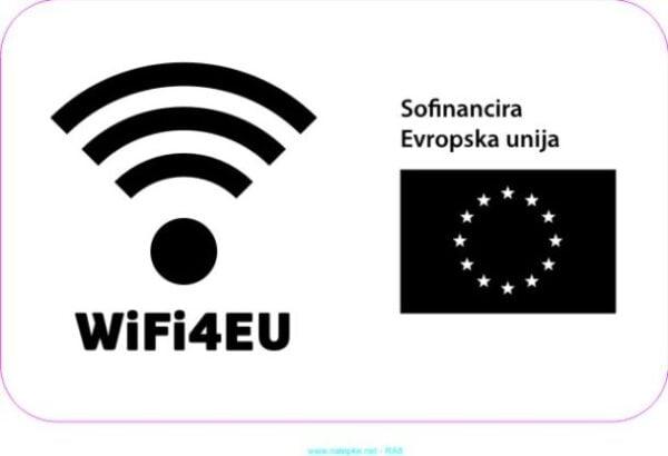 razno Emblem WiFi4EU – nalepka 4
