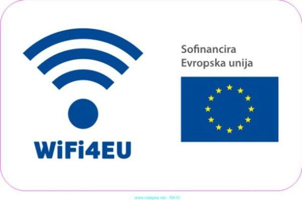 razno Emblem WiFi4EU – nalepka
