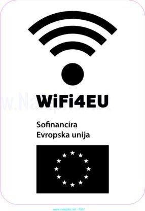 razno Emblem WiFi4EU – nalepka 3