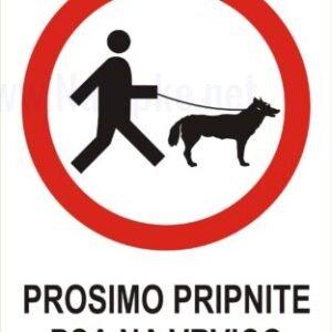razno Prosimo pripnite psa na vrvico